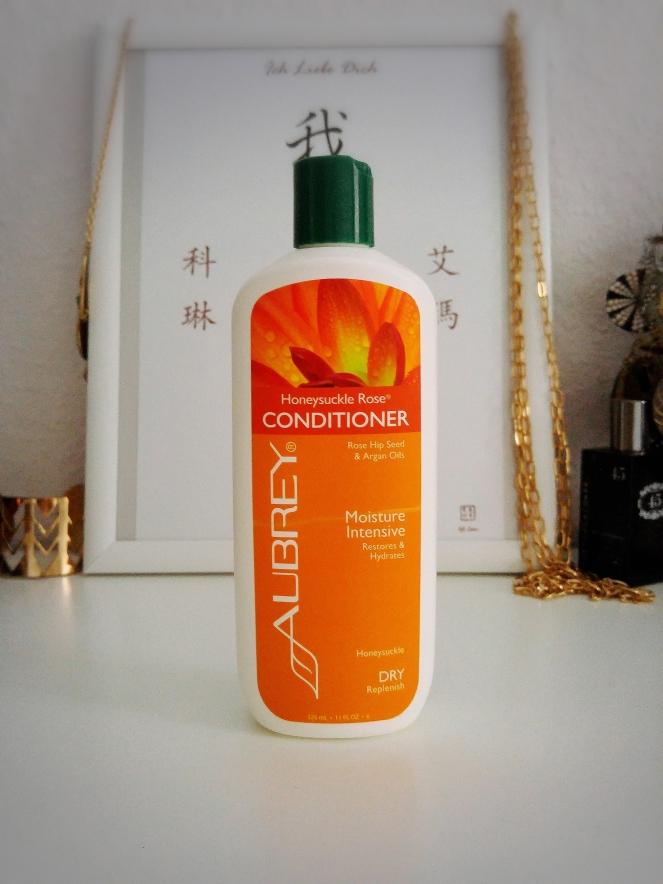 Aubrey Organics Honeysuckle Rose Conditioner Review